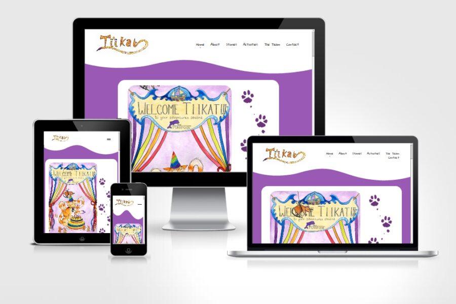 Children's Educational Website